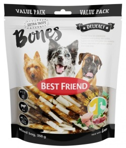 Best Friends Bones tuggpinnar -