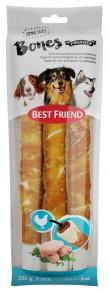 Best Friend Bones, tuggrulle fylld med kyckling och kycklinfilé - BF  Tuggrulle kyckling