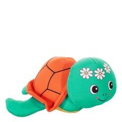 Plyschsköldpadda, flyter, 21x29cm