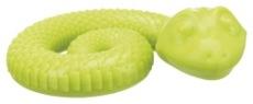 Ihopringlad Snackorm, TPR gummi, ø 18 cm, passar till mindre hundar/valpar