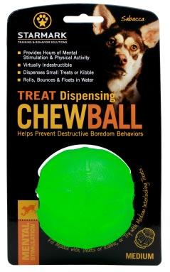 Starmark Chewball, Mjuk gummiboll, stoppa godis i för aktivering