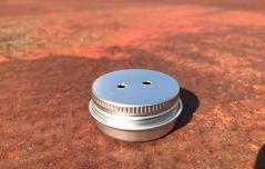 Metallbehållare utan magnet