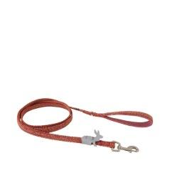 Hurtta Razzle-Dazzle Grip Koppel, 180cm x 15mm, handtaget är gummerat för bättre grepp