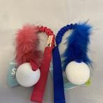 Elastisk fuskpälskampis L med Orbee Tuff Golf Ball