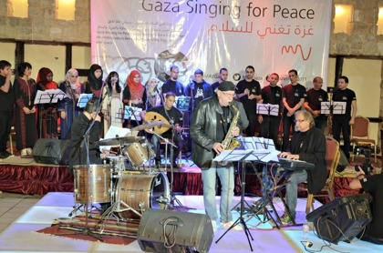 Gaza Singing for Peace, Gaza City