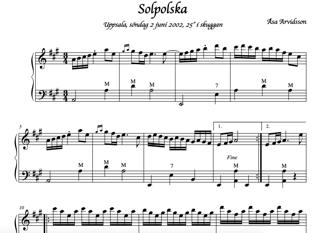 Solpolska (2 stämmor)