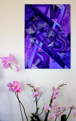 Viola di marre 40x70cm