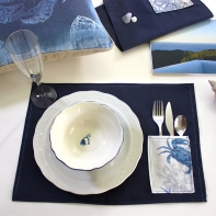 Blue sea placemats