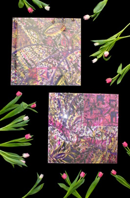 Tulpani pink 50x50cm