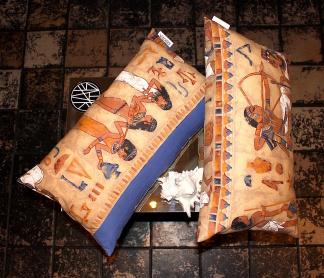 Egypt pillows