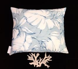 Blue palm 50x40cm