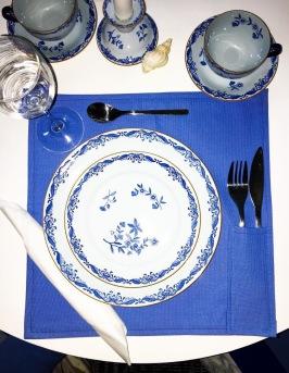 Blue home wear