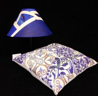 Blue lamps
