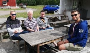 Karl, Jan,Josef Eriksson och Erik Lüsch Rämninge