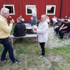 Margareta Gunnarsson avtackas