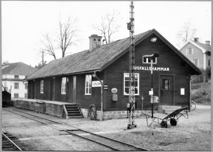 Ljusfallshammars järnvägsstation