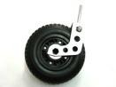 Polyuretanhjul med hållare 220mm