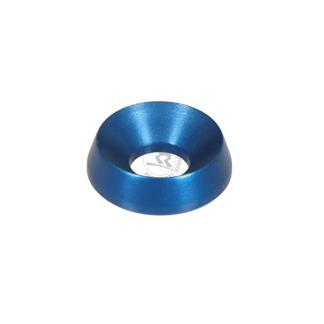 Försänkt aluminiumbricka 8x19mm - Blå