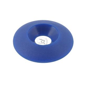 Försänkt plastbricka 6x17mm - Blå