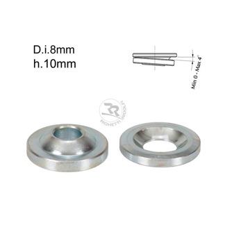 Kulleds-shims D.8mm/H.10mm 0-4° lutning