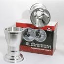 Douglas aluminiumfälgar 5x210mm med säkerhetsskruvar (par)