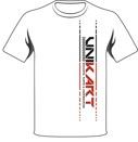 Unikart t-shirt Dammodell