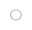 Stora o-ringen till topplocket, TM KZ10/B/C