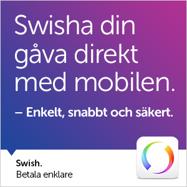 Swisha ditt bidrag till Team Sweden Volunteers på nr: 1233559408