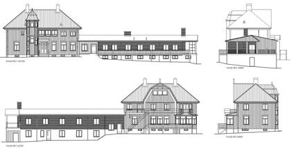 Villa Arelid Om Huset Ritning
