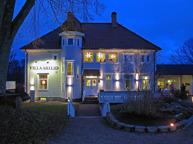 Villa Arelid Om Huset Kväll