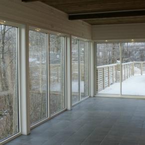 Villa Arelid Vinterträdgård Vy