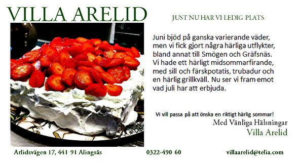 Villa Arelid Nyheter Nyhetsmail 2017 Juli