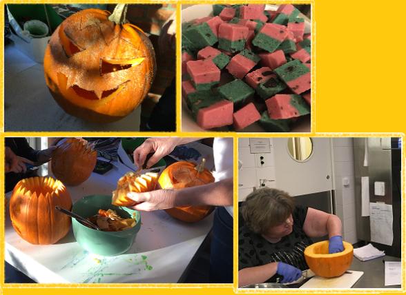 Villa Arelid Nyheter Förberedelser Halloweenfest 2017