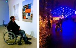 Konsthallen och jul på liseberg