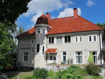 Villa Arelid På Huset Vinter