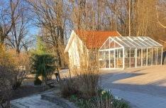 Villa Arelid På Miljö Frostig Blomma