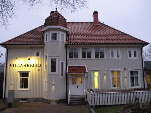Villa Arelid Framsida Huset