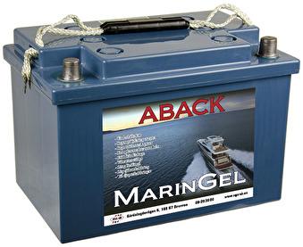 Batteri Maringel 12V 75 Ah - Maringel 75 Ah