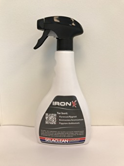 Flygrostlösare Selaclean Iron-X, 500ml - Iron X-It 500ml
