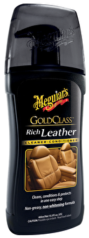 Meguiars Gold Class Rich Leather Cleaner & Conditioner - Meguiars Gold Class Rich Leather Cleaner & Conditioner