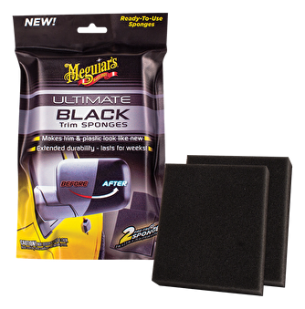 Meguiars Ultimate Black Sponges, 2-pack -