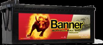 Banner Buffalo Bull 12V 225AH SHD PRO 72503 - Banner Buffalo Bull 12V 225AH SHD PRO 72503