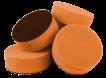 Polerrondeller 150x50 - Polerrondeller 150x50 Orange
