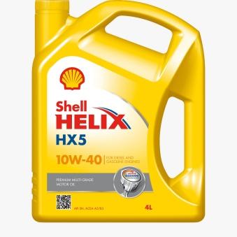 Shell Helix HX5 10W/40, 4L -