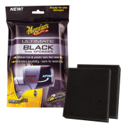 Meguiars Ultimate Black Sponges, 2-pack