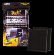 Meguiars Ultimate Black Sponges, 2-pack