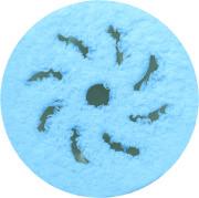 Rupes Blå Microfiberrondell 2-pack, 125/150mm