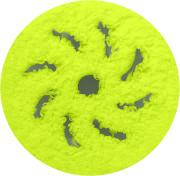 Rupes Gul Microfiberrondell 2-pack, 125/150mm