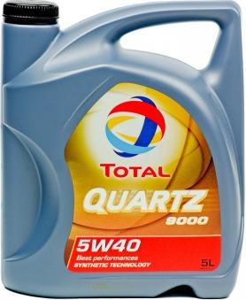 Total Quartz 9000 5w/40, 5L -