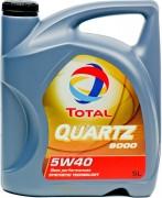 Total Quartz 9000 5w/40, 5L
